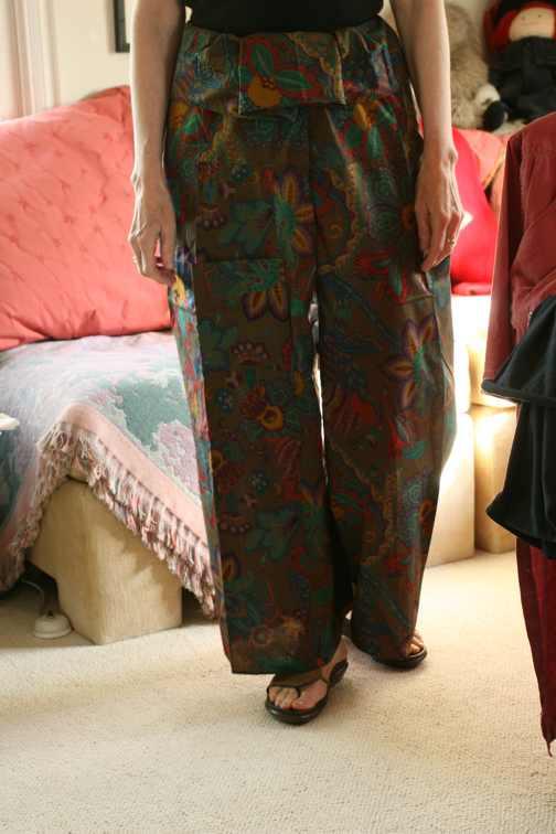 Seng nduwe ngamuk thai fisherman pants pattern for Spa uniform patterns